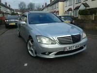 MERCEDES S320L PANORAMIC ROOF AMG VERSION PRICE £7700