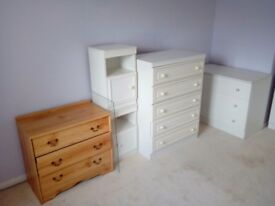 Selection of bedroom furniture