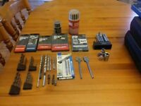 Drill bits and misc