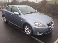 LEXUS IS220D MINT CONDITION 12 MONTH MOT EXCELLENT DRIVE WITH FULL HISTORY (is 220 is 220d is220)