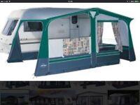 19' Pullman caravan awning