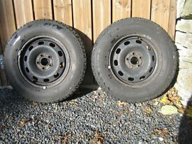 VW Golf Mk4 Winter tyres and rims