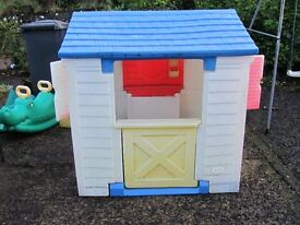 Wendy House by Little Tykes.