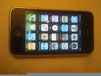 apple iphone 3 3gs internet smart phone with charger usb cable 8gb unlocked.GWO