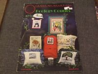 Cross stitch pattern book Ecology animals and birds endangered species lovely pictures