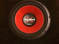 Sony 10 inch sub subwoofer bass box max 400w Xs-l1030