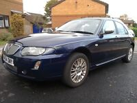 Rover 75 Connoisseur SE 2005 Saloon - 5-speed manual - 1.8 litre - 118 bhp in Royal Blue