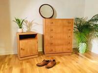 chest of drawers / mid century / vintage / retro