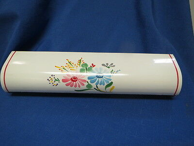 Ransburg Approaching Painted Kitchen Wax Paper Holder NOS