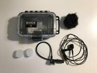 Rode Lavelier Mic - Omnidirectional. Used twice. Micron-2 adapter.