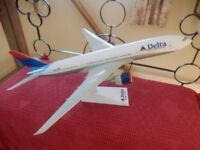 Delta Airlines Boeing 777-200 Aircraft Shop Display Model