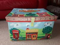 Happyland Double Sided Play Mat/Storage Box