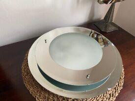 Ceiling Lighting - Round Glass