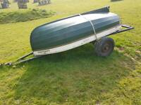 7ft dingy and trailer