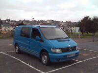 Mercedes Vito Diesel Campervan/Day Van