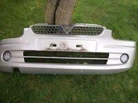 Vauxhall Agila 1.2, 2001, silver Front Bumper