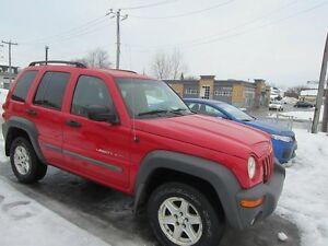 2002 Jeep Liberty Sport TOUT EQUIPE 4X4 FINANCEMENT