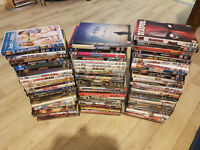 Collection of 80 DVDs for sale, £20