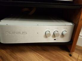 Plinius 9200 Integrated Amplifier and Plinius Mauri CD Player