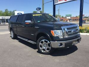 2011 Ford F-150 Lariat *Leather* EcoBoost* Bed Cap*