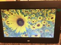 "10 "" Digital photo frame ,LED backlight picture video player with remote and memory card"