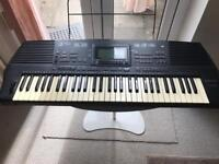 Electronic keyboard technics