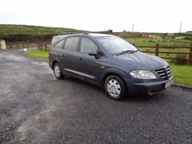 2007 Ssangyoung Rodius 2.7 Diesel 7 Seater