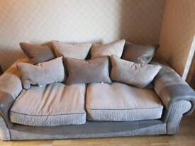 Sofa and cuddler