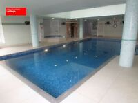 5 DOUBLE BEDROOMS-4 BATHROOMS-GYM-POOL-CONCIERGE TOWNHOUSE OFFERED FURNISHED CANARY WHARF E14