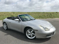STUNNING PORSCHE 911 996 CARRERA 4 CONVERTIBLE WITH FULL SERVICE HISTORY AND A NEW 12 MONTHS MOT
