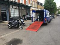 DMR Motorcycle Recovery, professional recovery service accident breakdown police pound