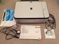 Pixma MP490 All-In-One Printer with box and all working parts
