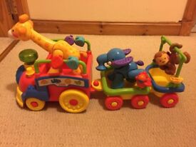Fisher Price Amazing Animals Sing n Go Train