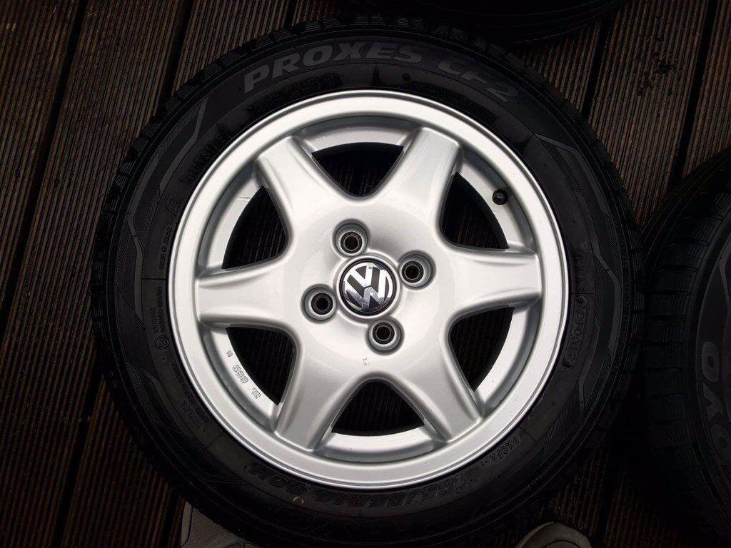 BBS Alloy Wheels - Genuine VW OEM Fitment