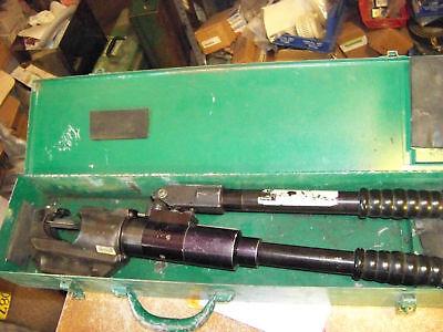 Greenlee Lineman 1985 Hydraulic Hand Crimper In Box 750