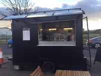 Snack van for sale or rent with static pitch & mains electric