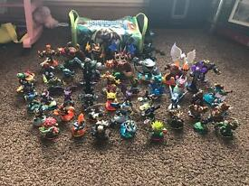 Skylanders Figures x47 And Bag