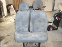 ford transit seat passenger twin mk7
