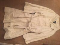 H&M STUNNING GLAM COAT DRESS