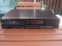 vintage sony digital cd player cdp~750