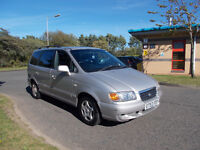 HYUNDAI TRAJET 2.0 GSI 7 SEATER MPV SILVER 2003 BARGAIN ONLY 450 *LOOK* PX/DELIVERY