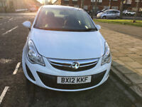 2012 VAUXHALL CORSA 1.3 CDTI DIESEL, 5 SPEED, 5 DOORS, STOP START SYSTEM.VEHICLE GOOD CONDITION