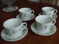 bone china latte set for sale