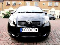 TOYOTA YARIS 1.4 D4-D TR 5 DOOR HATCHBACK FSH HPI CLEAR 1 OWNER FROM NEW EXCELLENT CONDITION