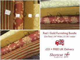 Furnishing Fabric Bundle - 22m