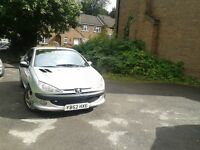 Dont miss this beautiful Peugeot 206cc. Allure, Low Mileage, Lots extras, Red /Black Leather