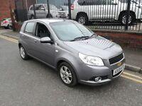 2009 (59reg), Chevrolet Aveo 1.4 LT 5dr Hatchback, £1,195 p/x welcome
