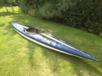 14 ft KAYAK canoe good condition fully watertight VERY STABLE great fun
