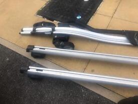 Audi a4 avant roof rack and bike rack roof rails