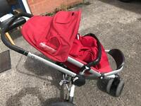 $$ Must go$$ Quinny Buzz Pram with Coccon and Rain cover